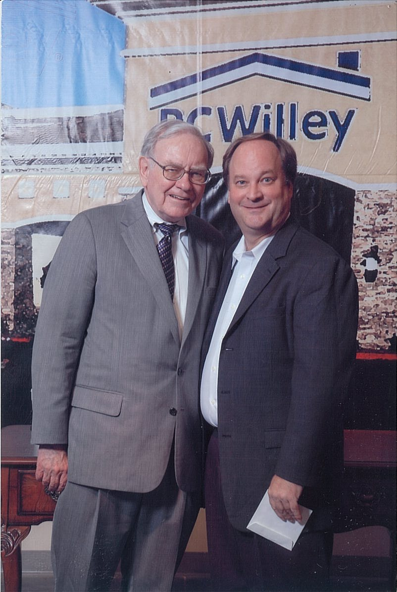 Robert P. Miles with Warren Buffett